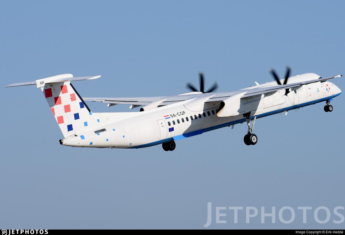9A-CQF - Bombardier Dash 8-Q402 - Croatia Airlines