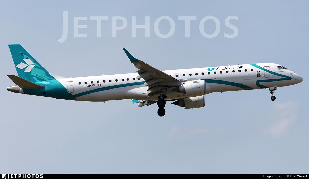I-ADJS - Embraer 190-200LR - Air Dolomiti