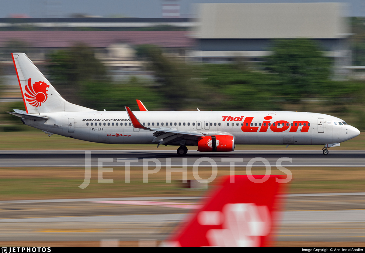 HS-LTI - Boeing 737-9GPER - Thai Lion Air
