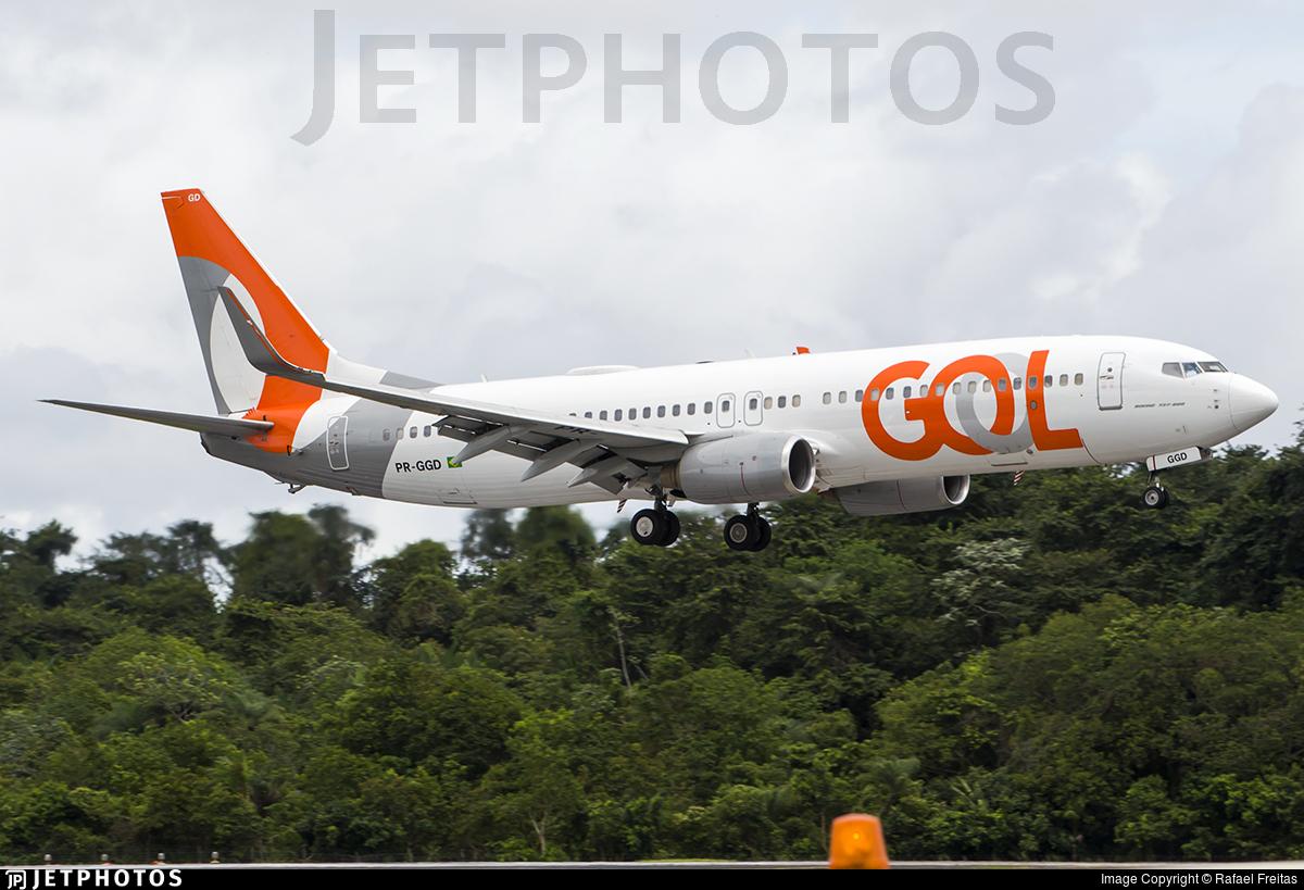 PR-GGD - Boeing 737-8EH - GOL Linhas Aéreas