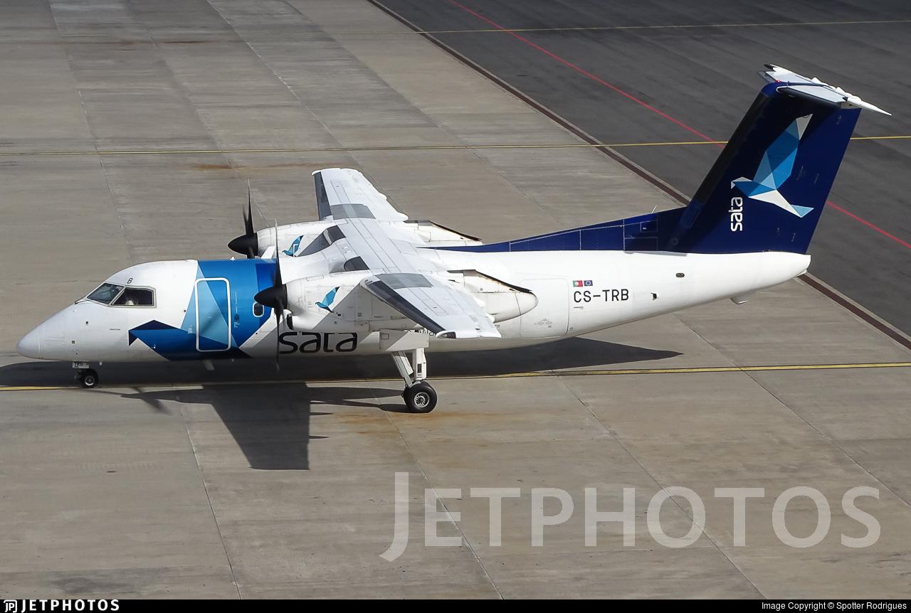 CS-TRB - Bombardier Dash 8-Q202 - SATA Air Açores