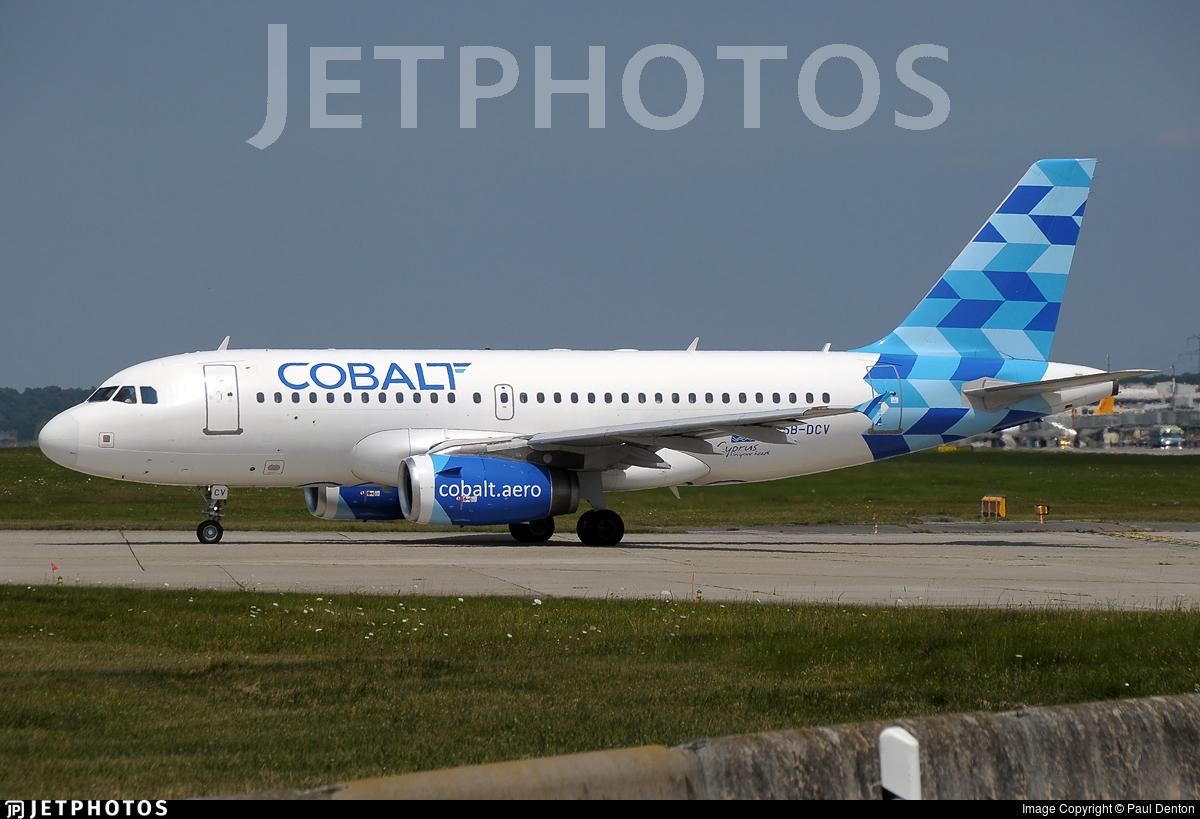 5B-DCV - Airbus A319-132 - Cobalt Air
