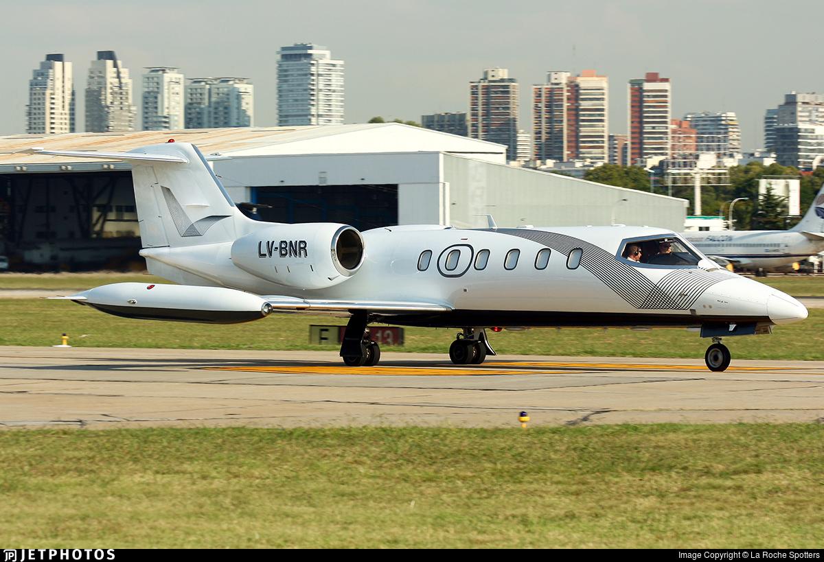LV-BNR - Bombardier Learjet 35A - Private