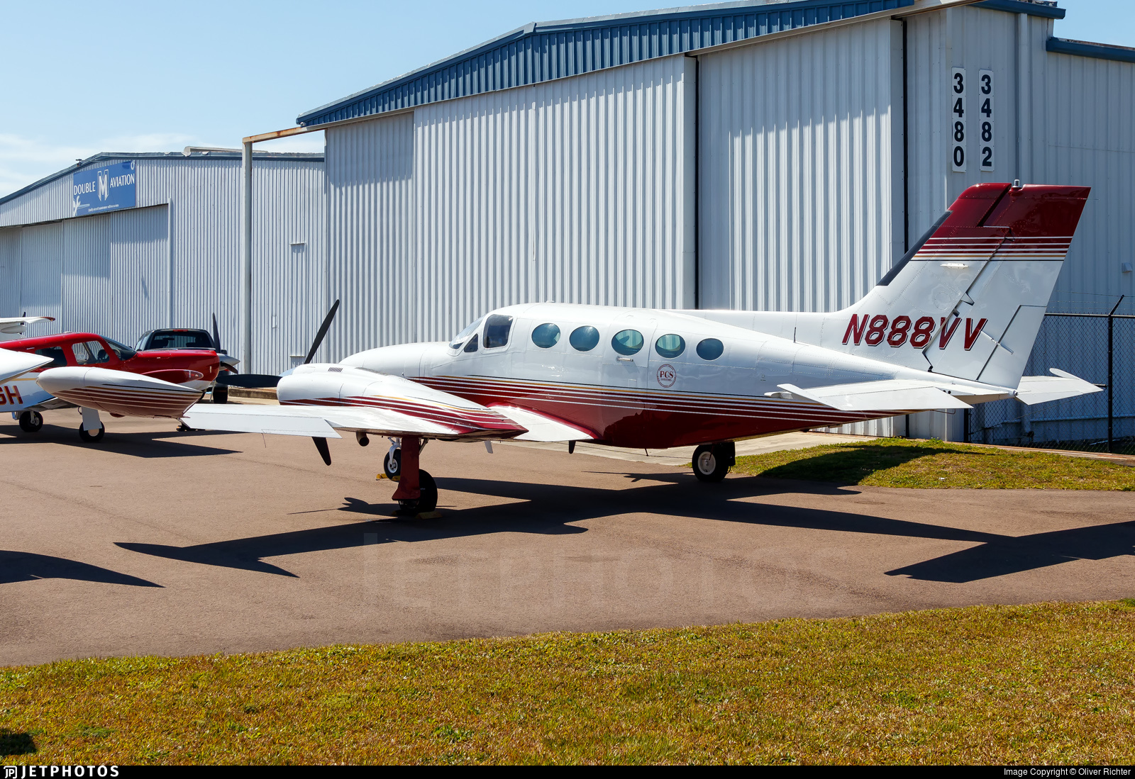 N888VV - Cessna 421B Golden Eagle - PCS Aviation