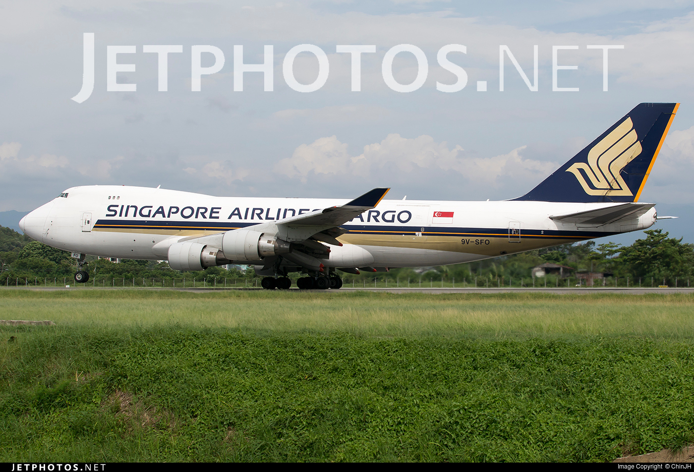 9v sfo boeing 747 412f scd singapore airlines cargo chinjh jetphotos - Singapore airlines office ...