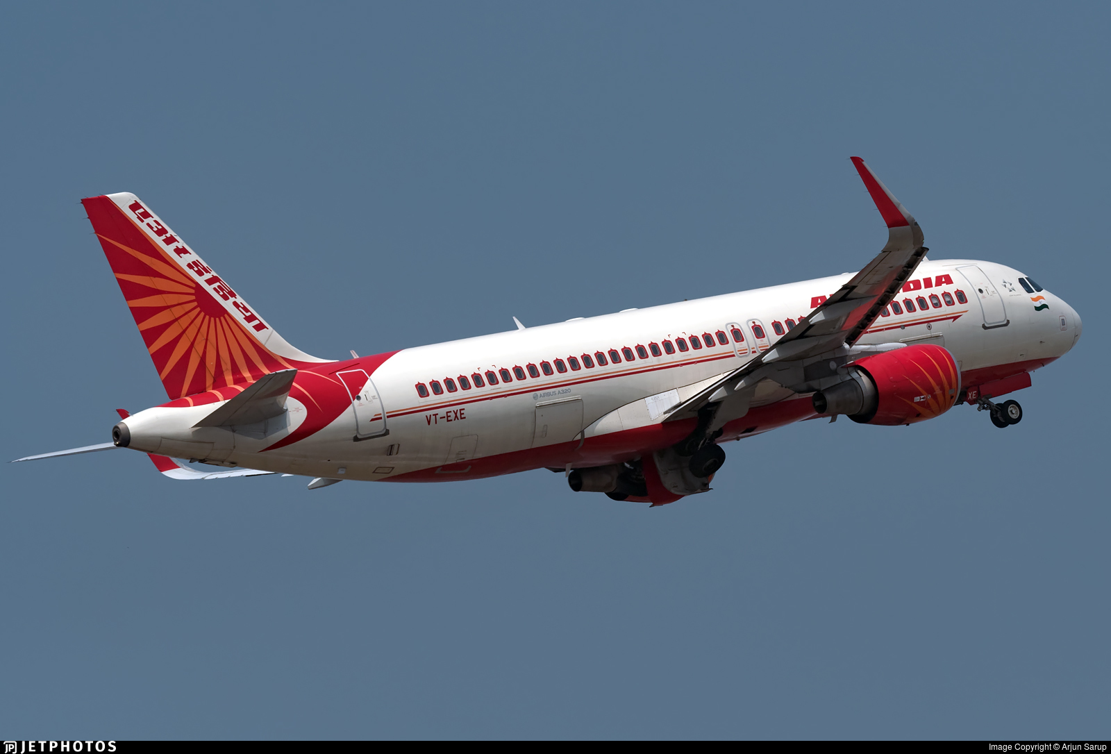VT-EXE - Airbus A320-214 - Air India