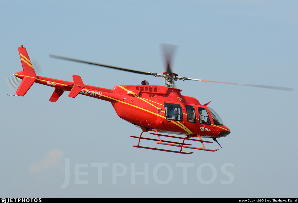 S2-AFY - Bell 407 - Bangla International Airlines