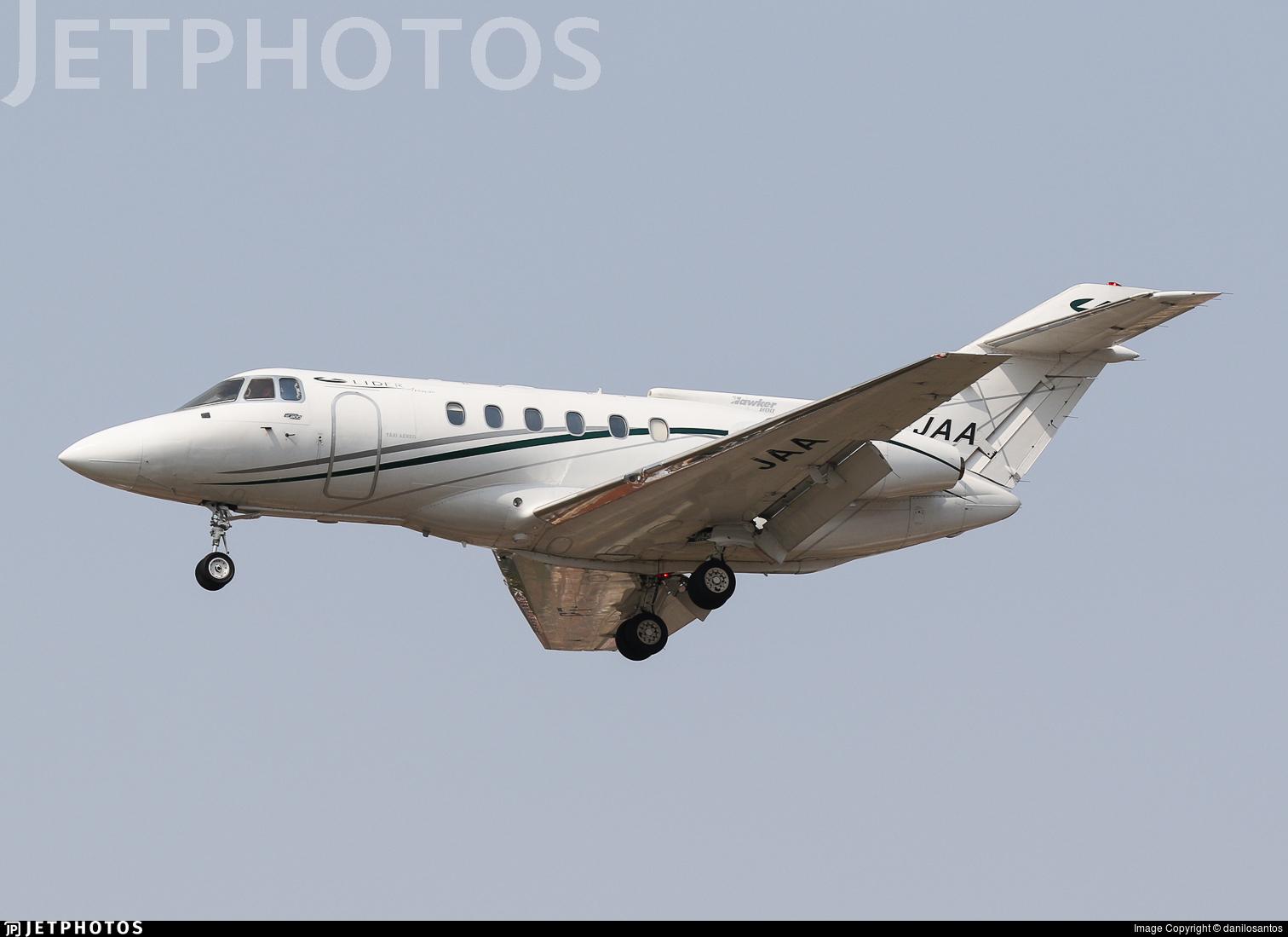 PT-JAA - British Aerospace BAe 125-800B - Líder Táxi Aéreo