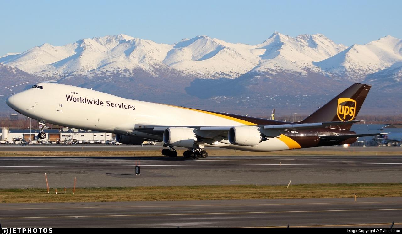 N621UP - Boeing 747-84AF - United Parcel Service (UPS)