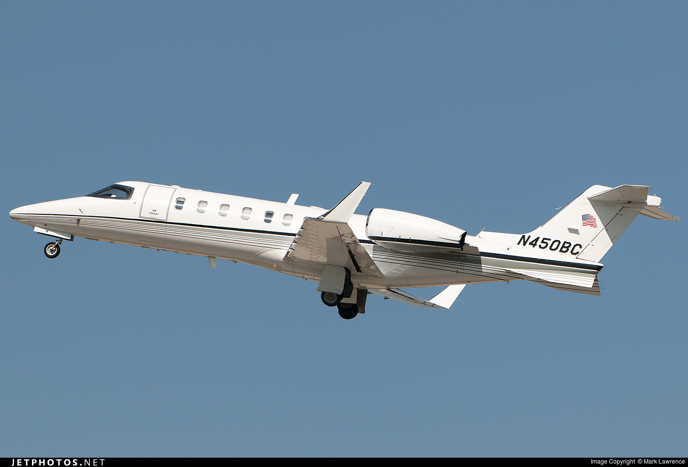 N450BC - Bombardier Learjet 45 - Private