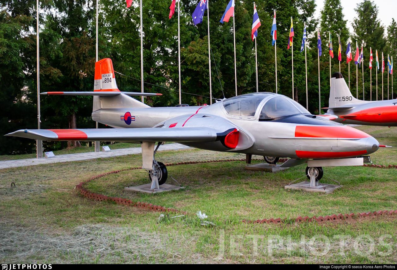 60894 - Cessna T-37C Tweety Bird - South Korea - Air Force