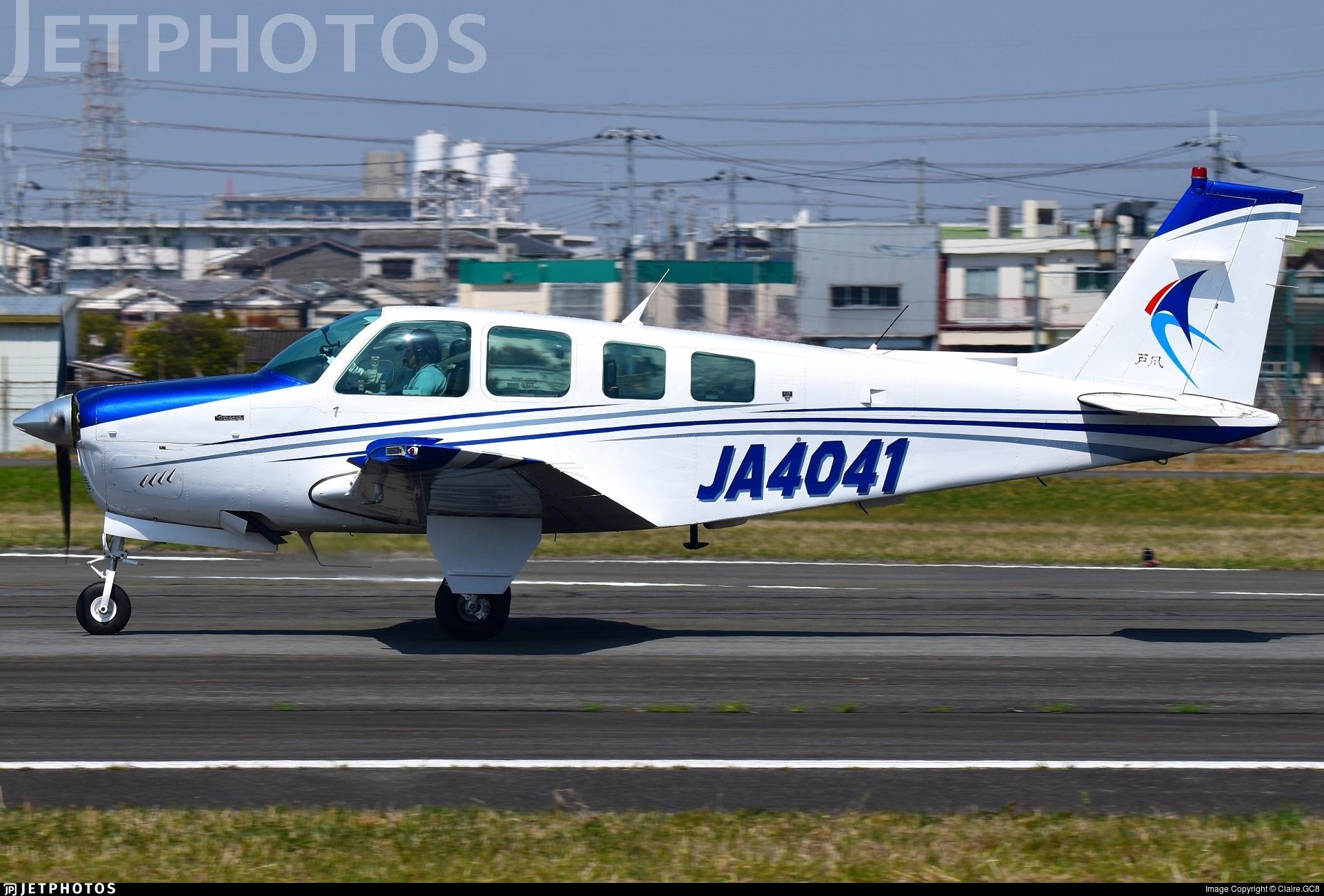 JA4041 - Beechcraft A36 Bonanza - Private