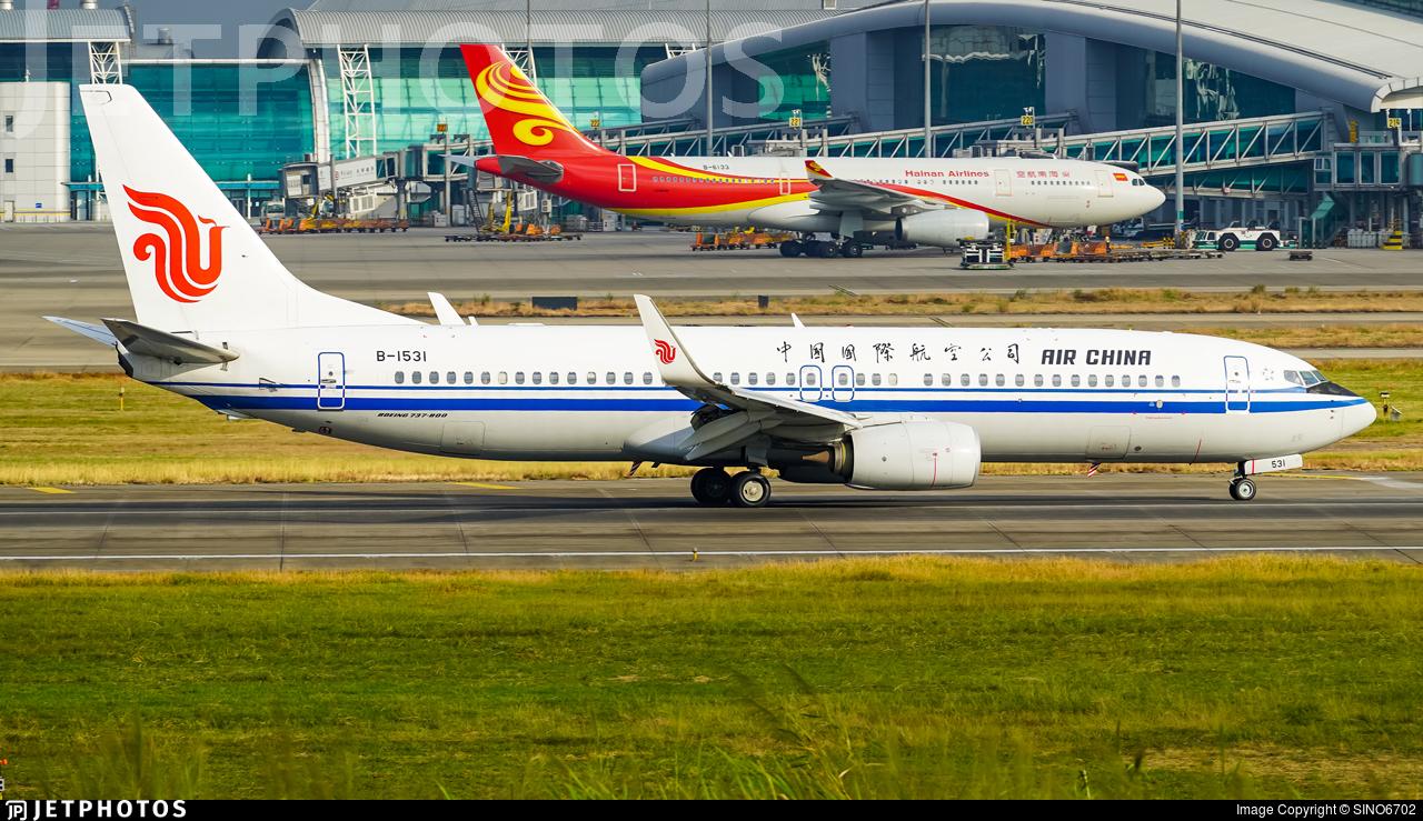 B-1531 - Boeing 737-89L - Air China