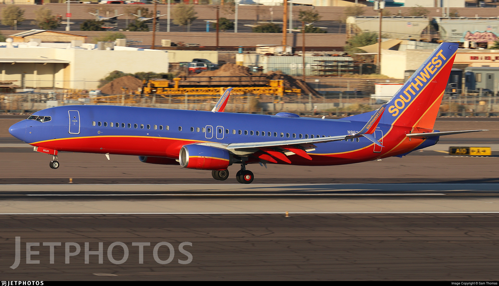 N8626B - Boeing 737-8H4 - Southwest Airlines