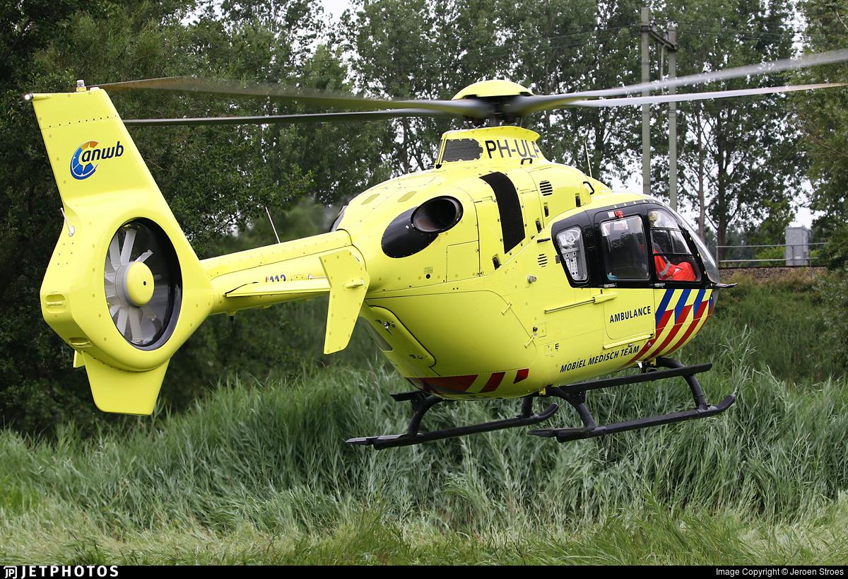 PH-ULP - Eurocopter EC 135T2 - ANWB Medical Air Assistance