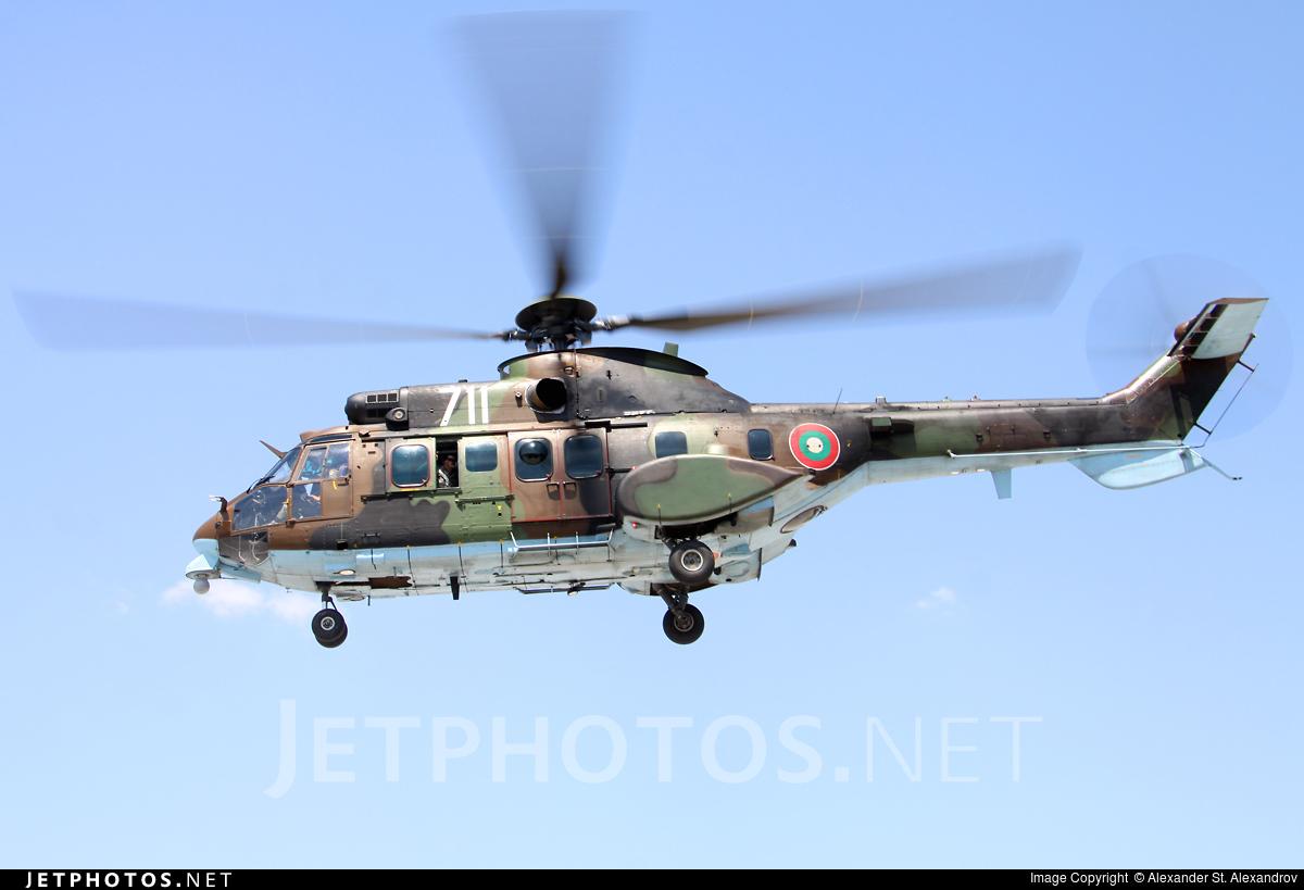 711 - Eurocopter AS 532AL Cougar - Bulgaria - Air Force