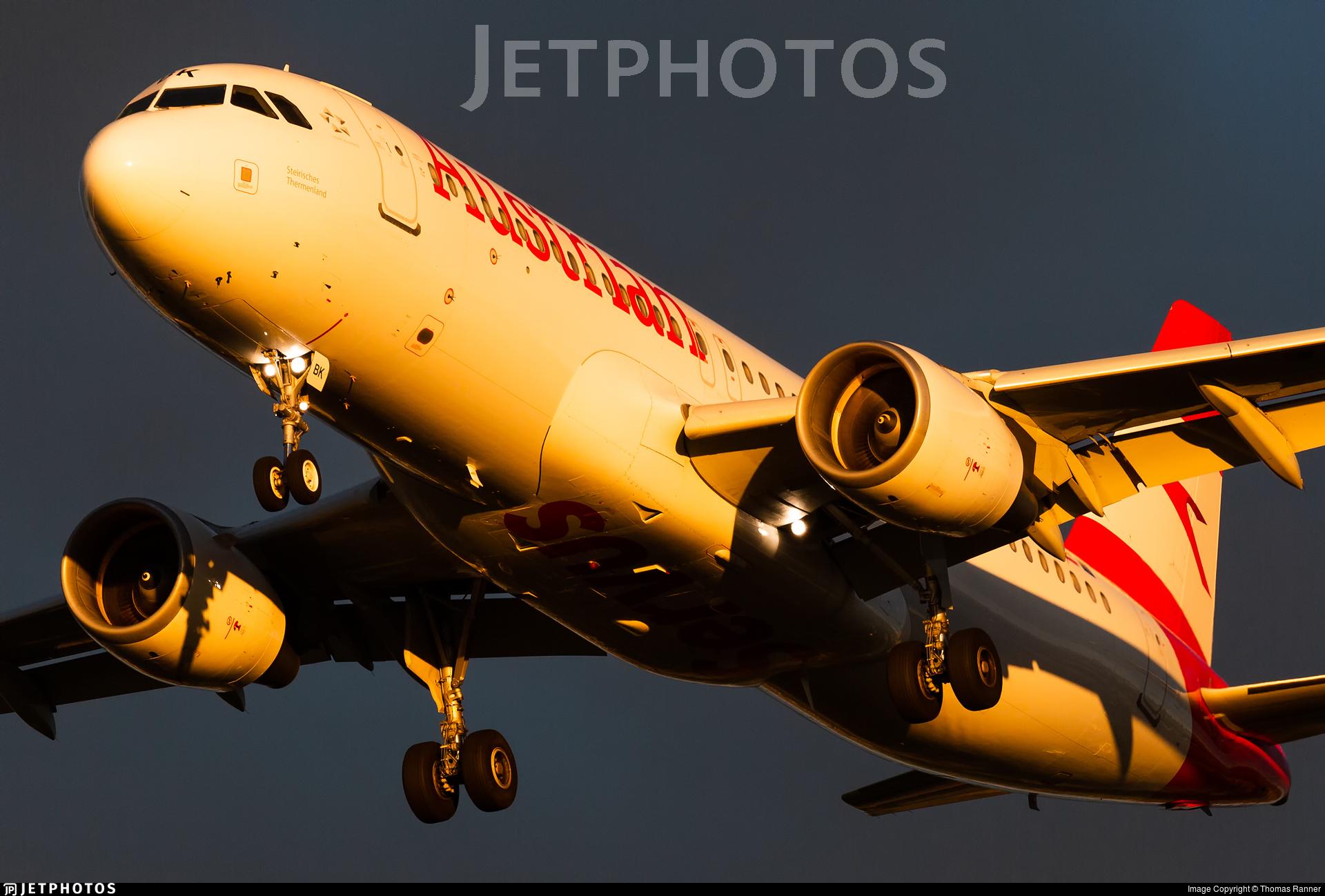 OE-LBK - Airbus A320-214 - Austrian Airlines