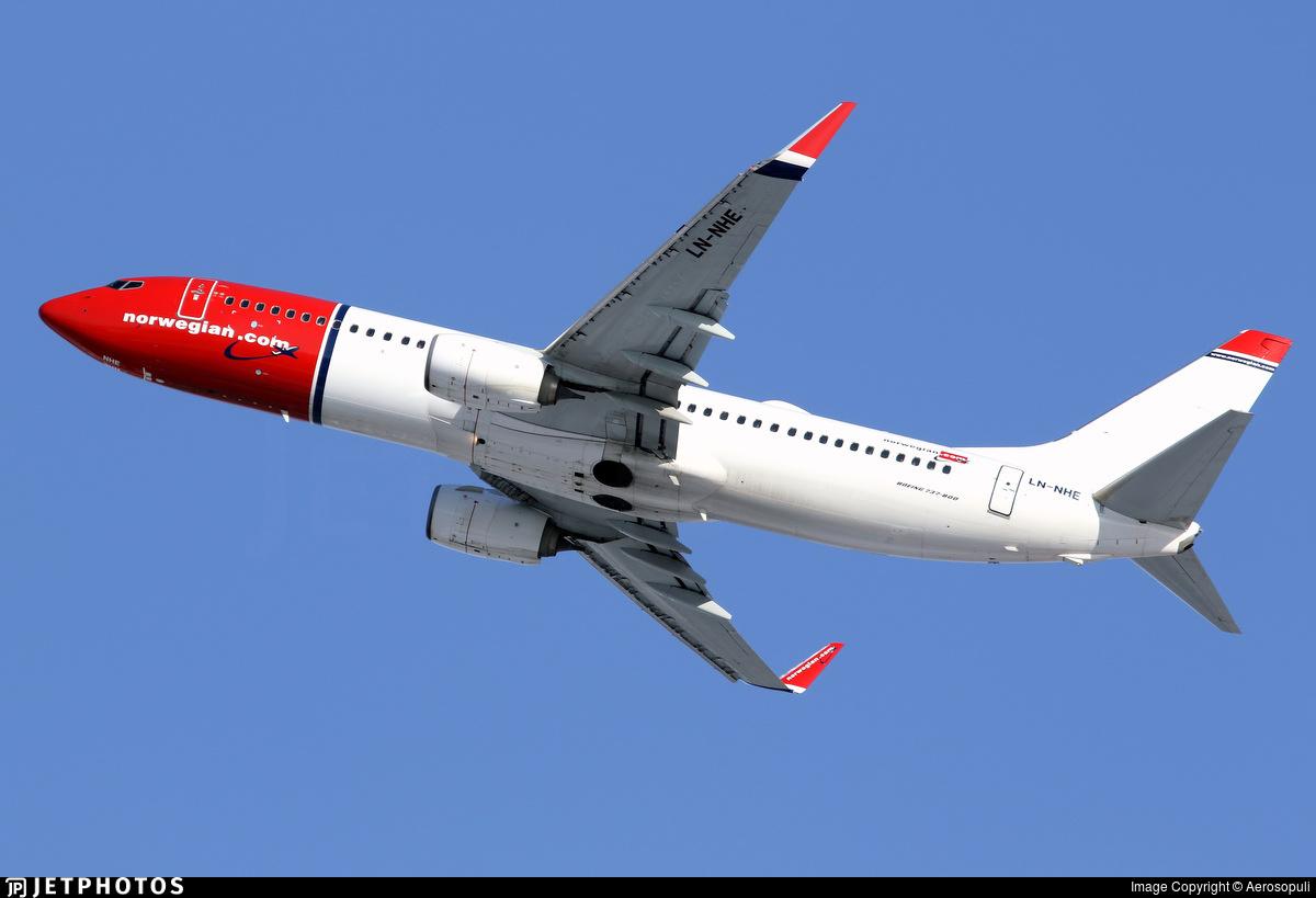 LN-NHE - Boeing 737-8JP - Norwegian
