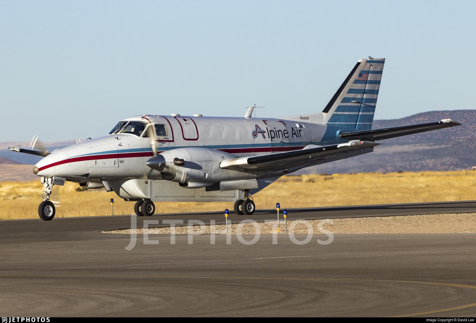 N237SL - Beechcraft C99 Airliner - Alpine Air