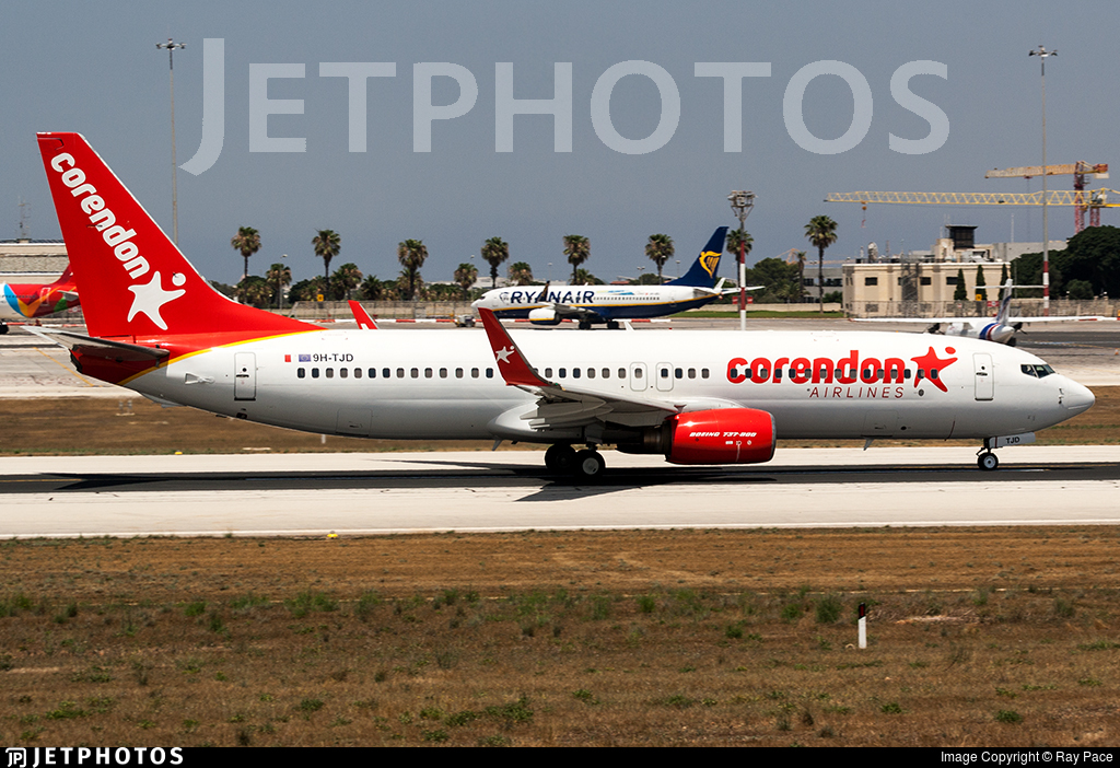 9H-TJD - Boeing 737-84P - Corendon Airlines Europe