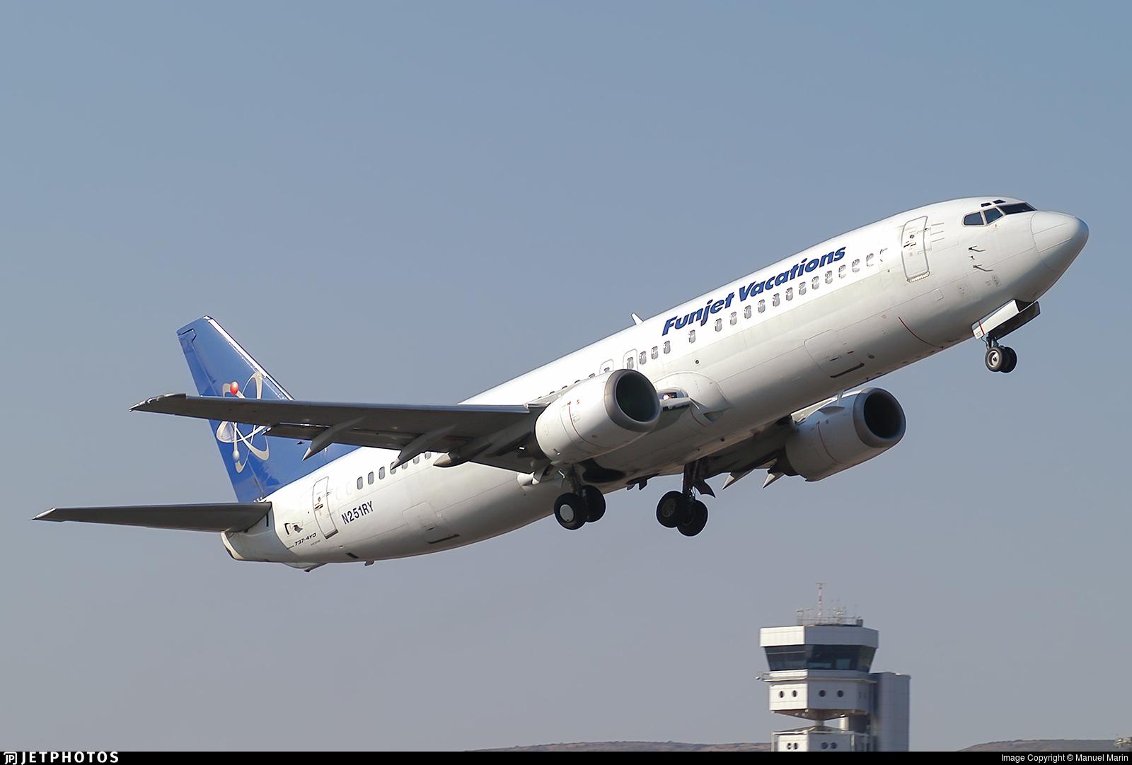 N251RY - Boeing 737-4Y0 - Futura International Airways
