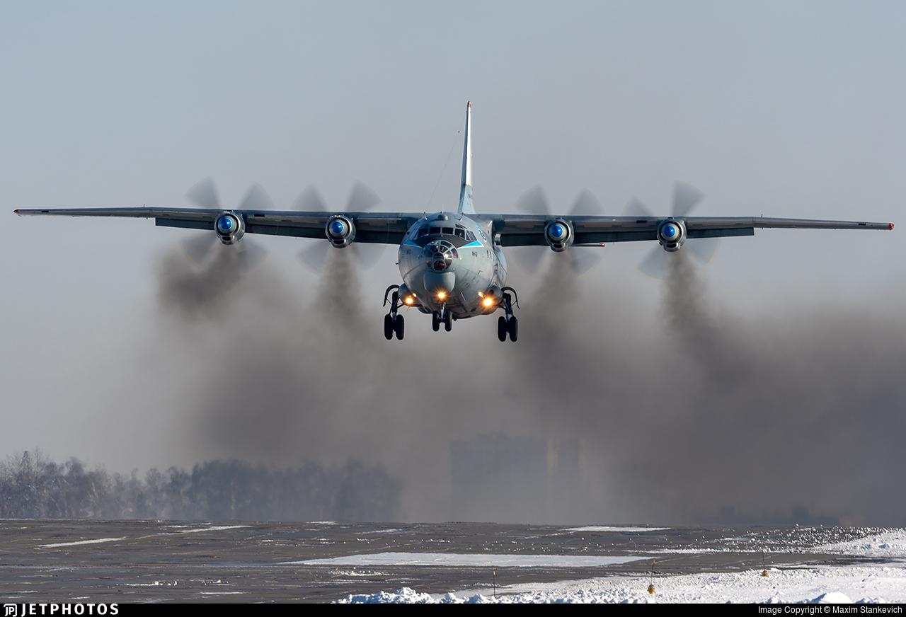 RF-12025 - Antonov An-12BK - Russia - Air Force