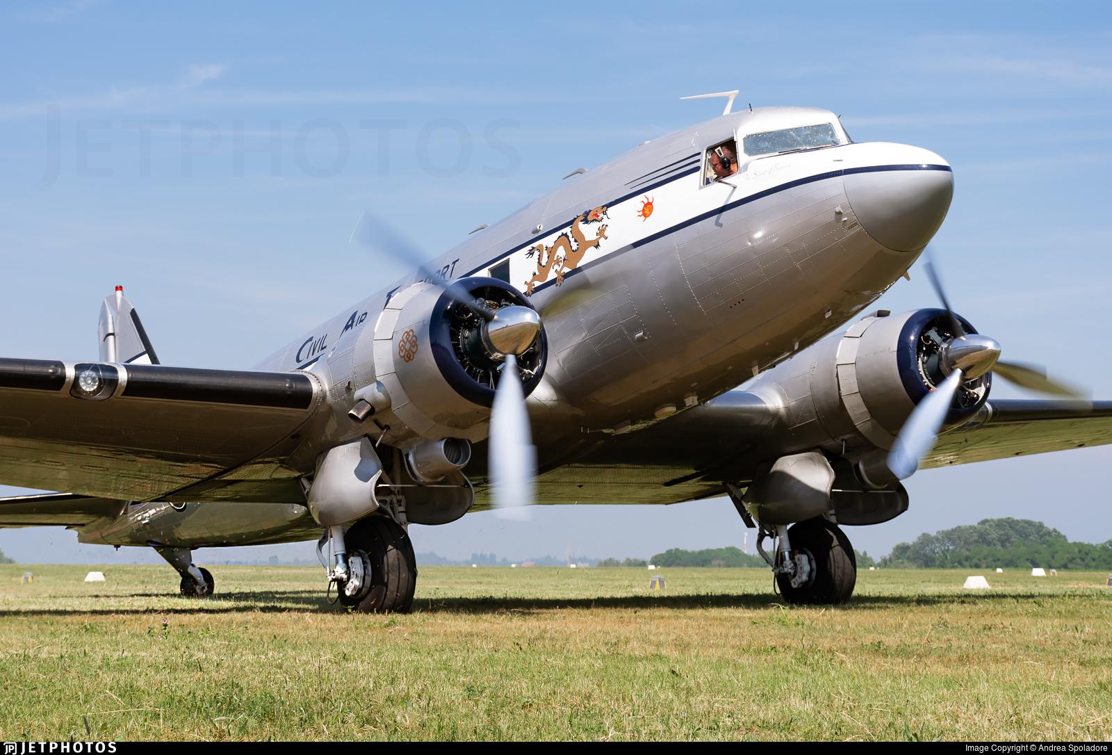 N8336C - Douglas DC-3A - Private