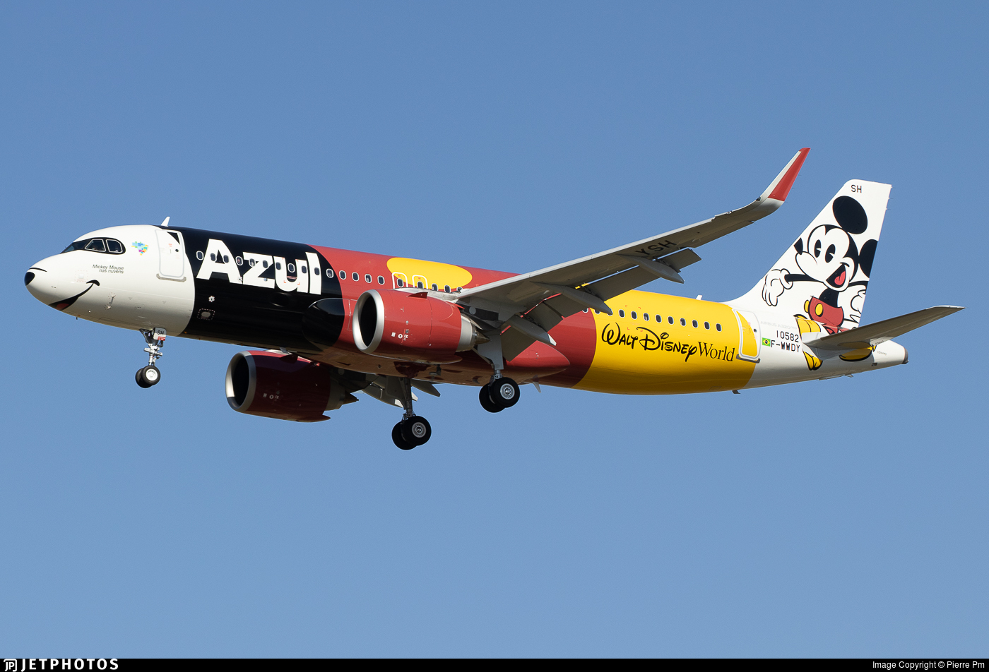 F-WWDY - Airbus A320-251N - Azul Linhas Aéreas Brasileiras