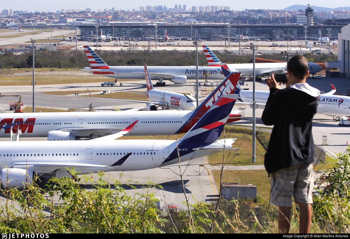 SBGR - Airport - Spotting Location