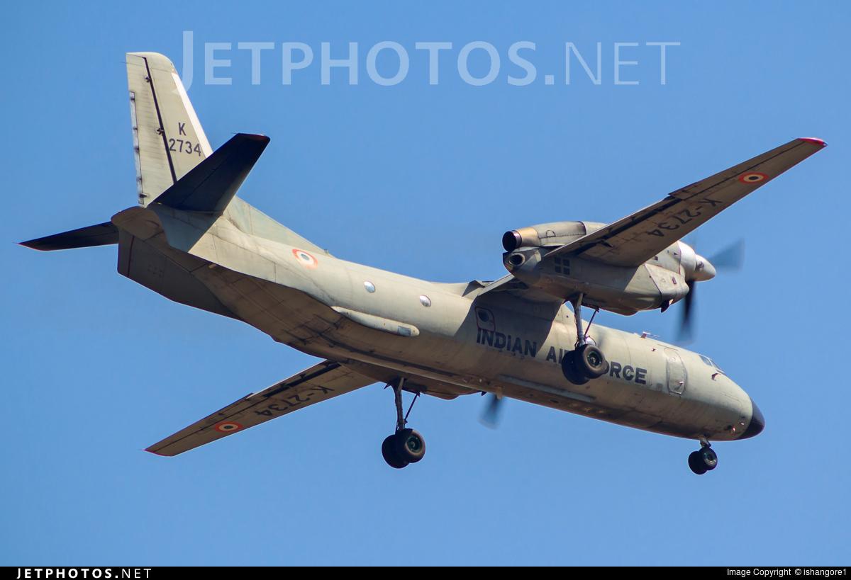 K2734 - Antonov An-32 - India - Air Force