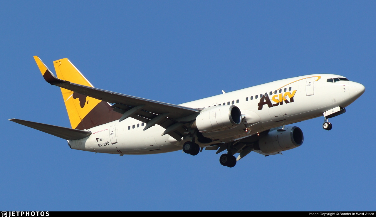 ET-AVO - Boeing 737-752 - ASky Airlines