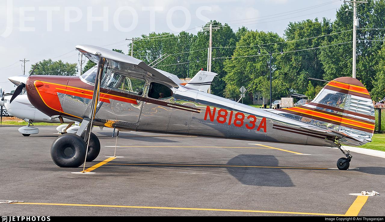 N8183A - Cessna 170B - Private