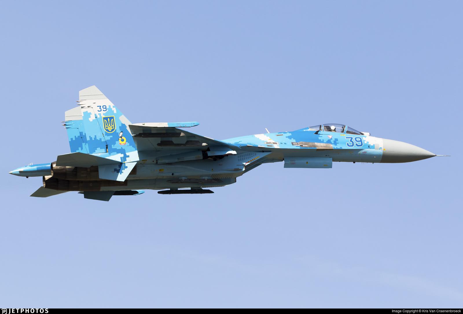 39 - Sukhoi Su-27 Flanker - Ukraine - Air Force