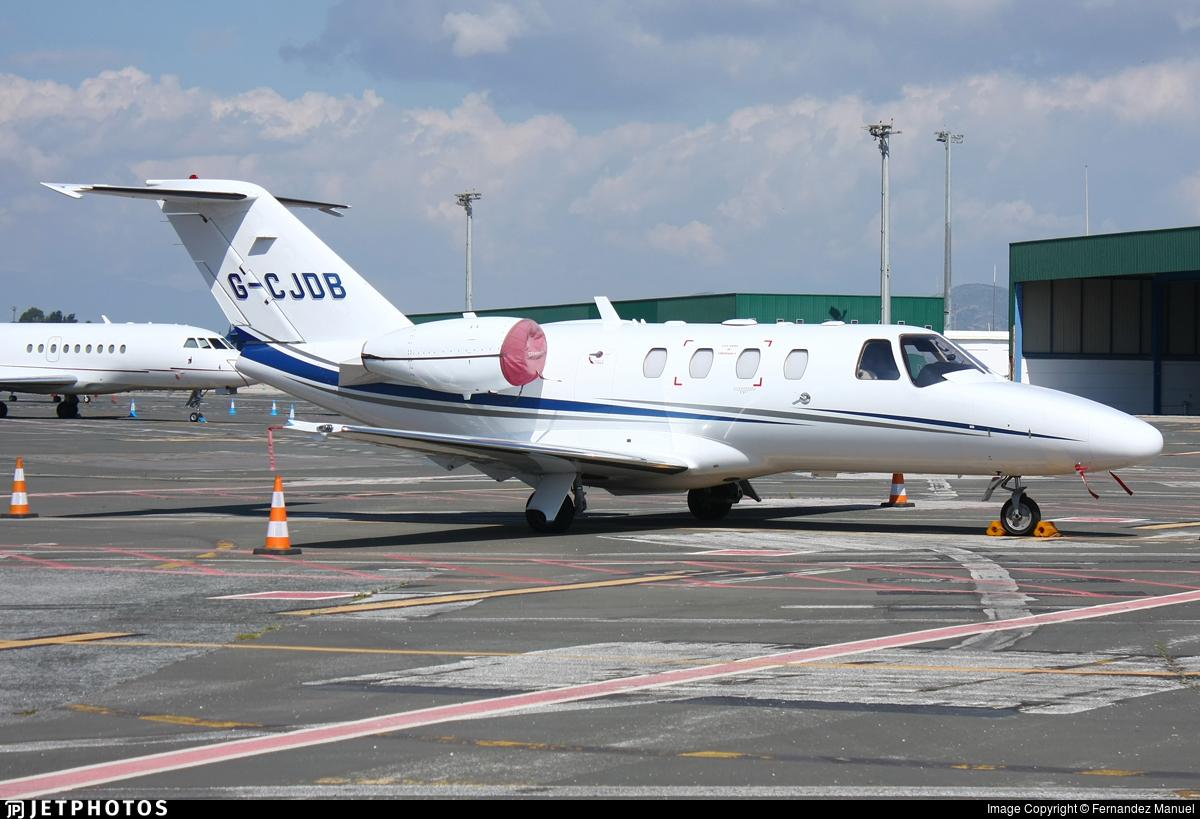 G-CJDB - Cessna 525 CitationJet 1 - Private