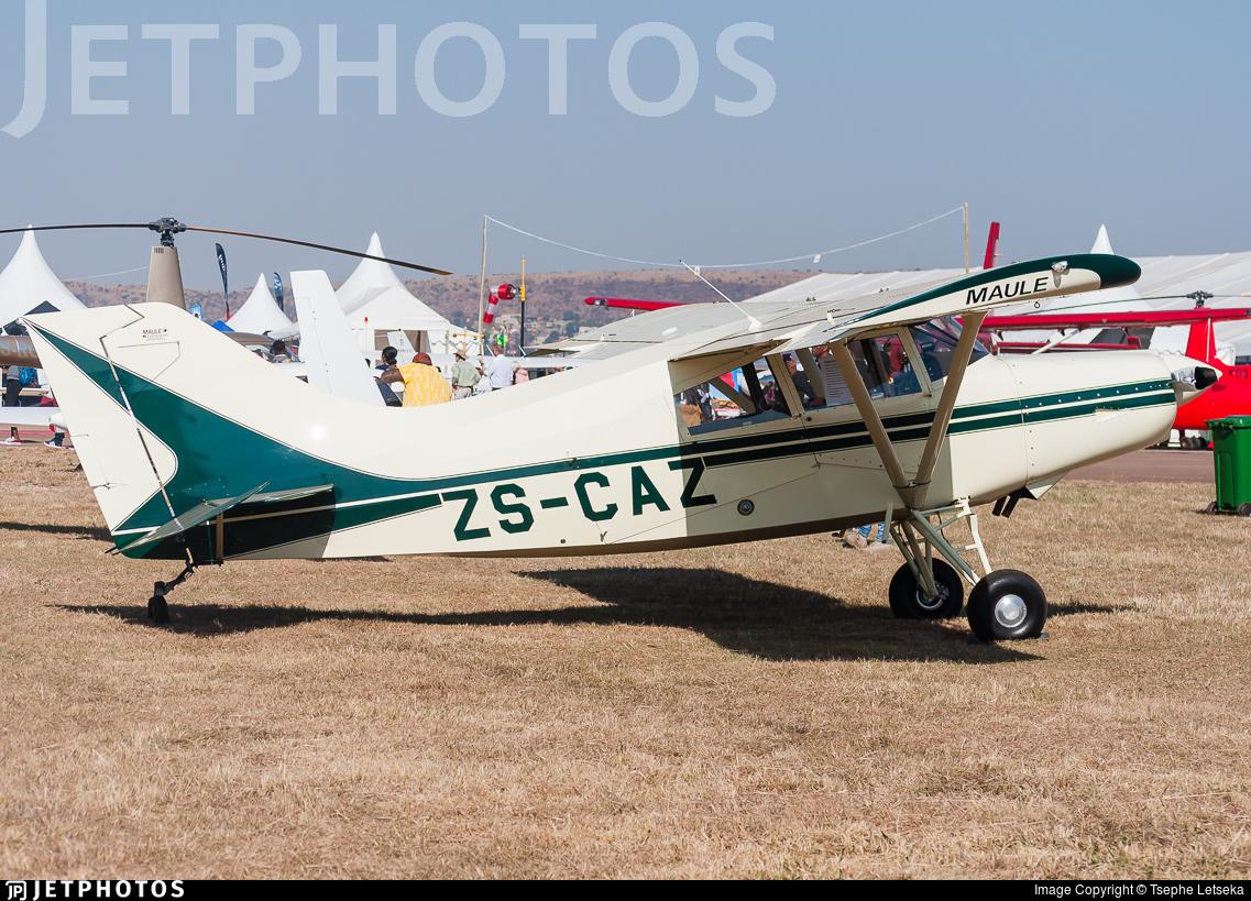 ZS-CAZ - Maule MX-7-180 - Private