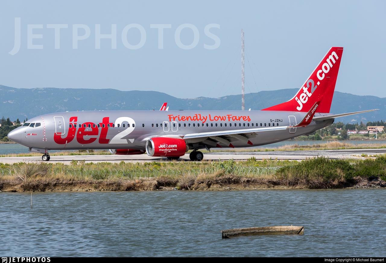 G-JZHJ - Boeing 737-8MG - Jet2.com