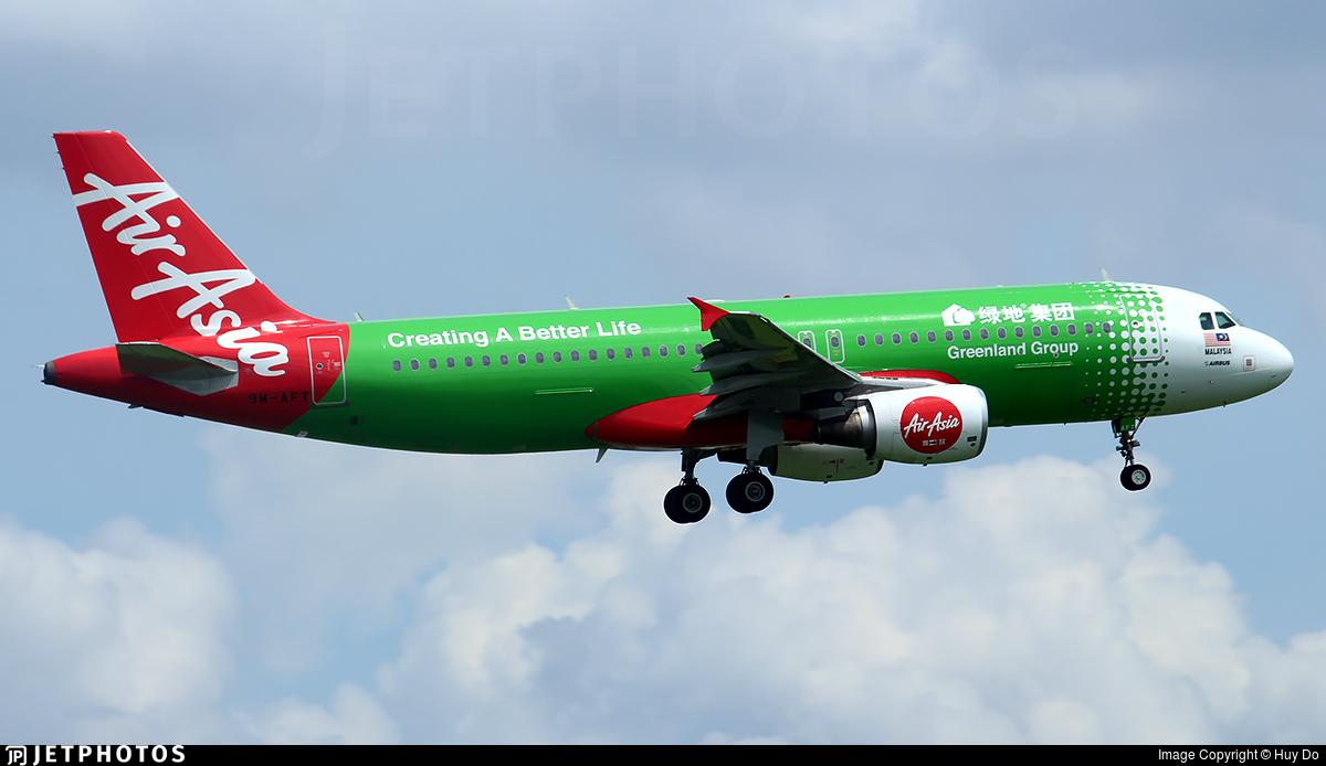 9M-AFT - Airbus A320-216 - AirAsia