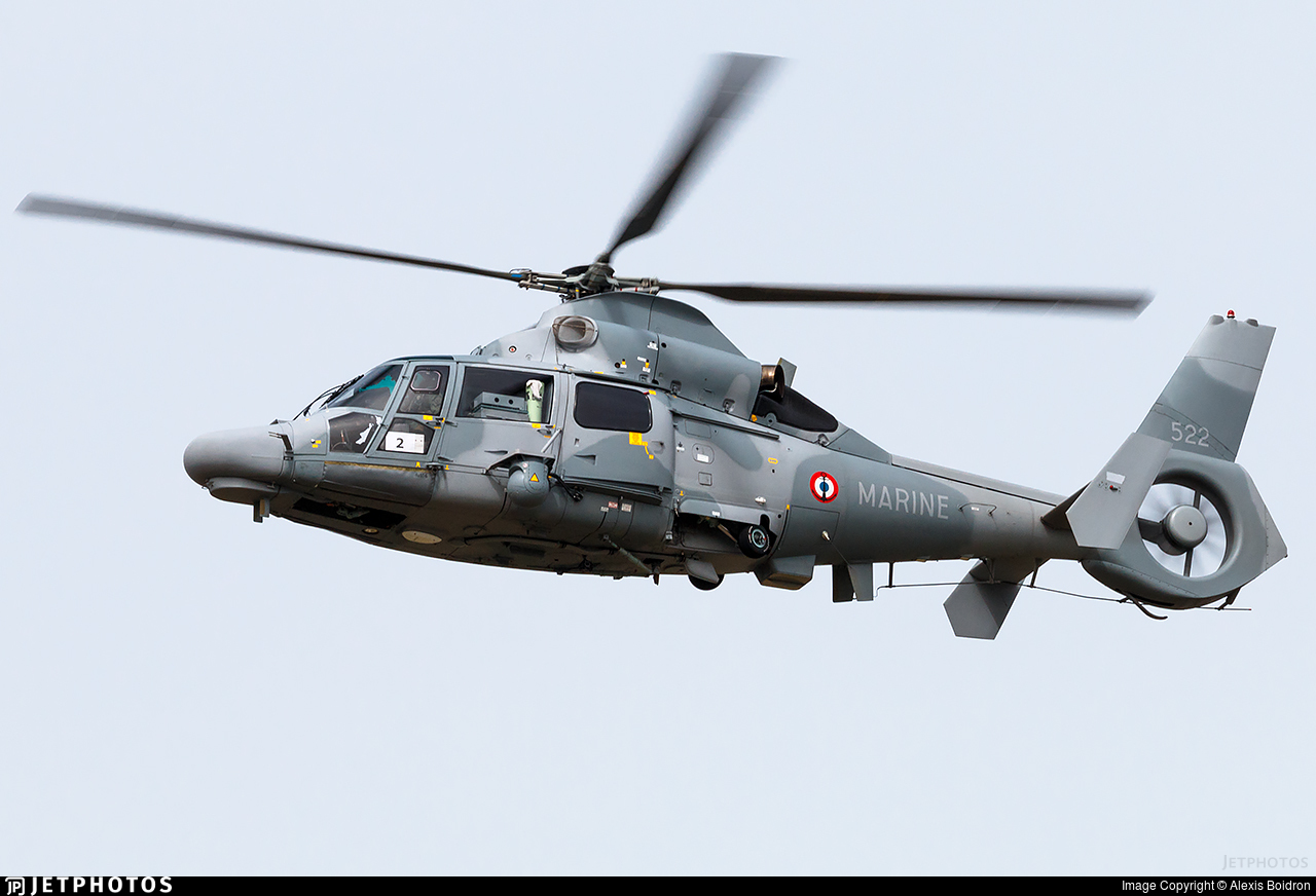 522 - Eurocopter AS 565SA Panther  - France - Navy