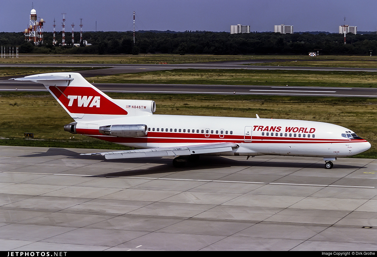 N846TW - Boeing 727-31 - Trans World Airlines (TWA)