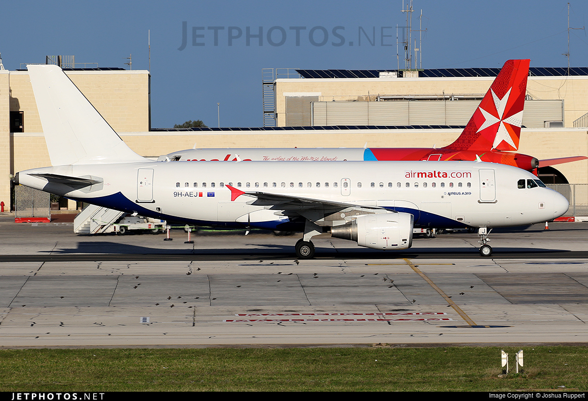 9H-AEJ - Airbus A319-111 - Air Malta
