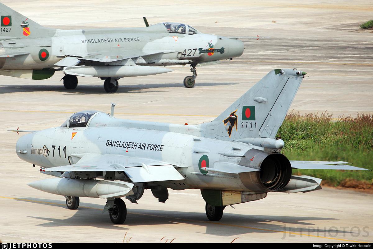 2711 - Chengdu F-7BGI - Bangladesh - Air Force