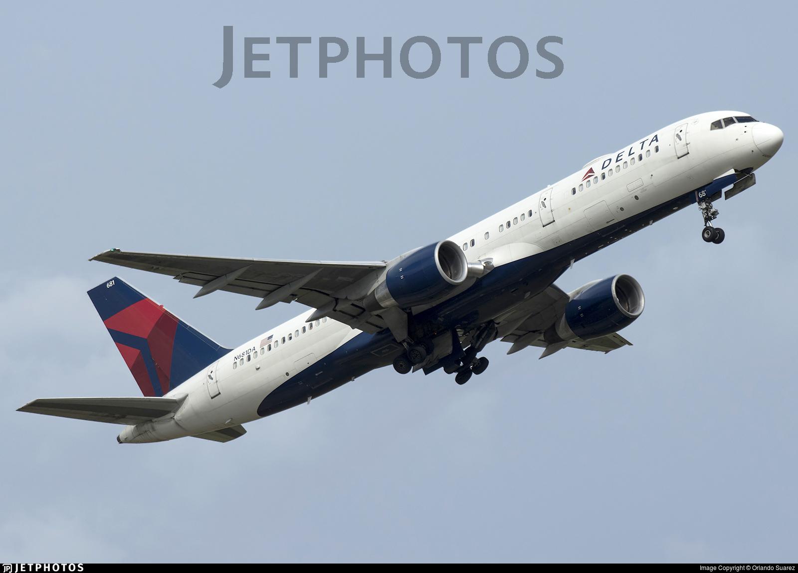 N681DA - Boeing 757-232 - Delta Air Lines