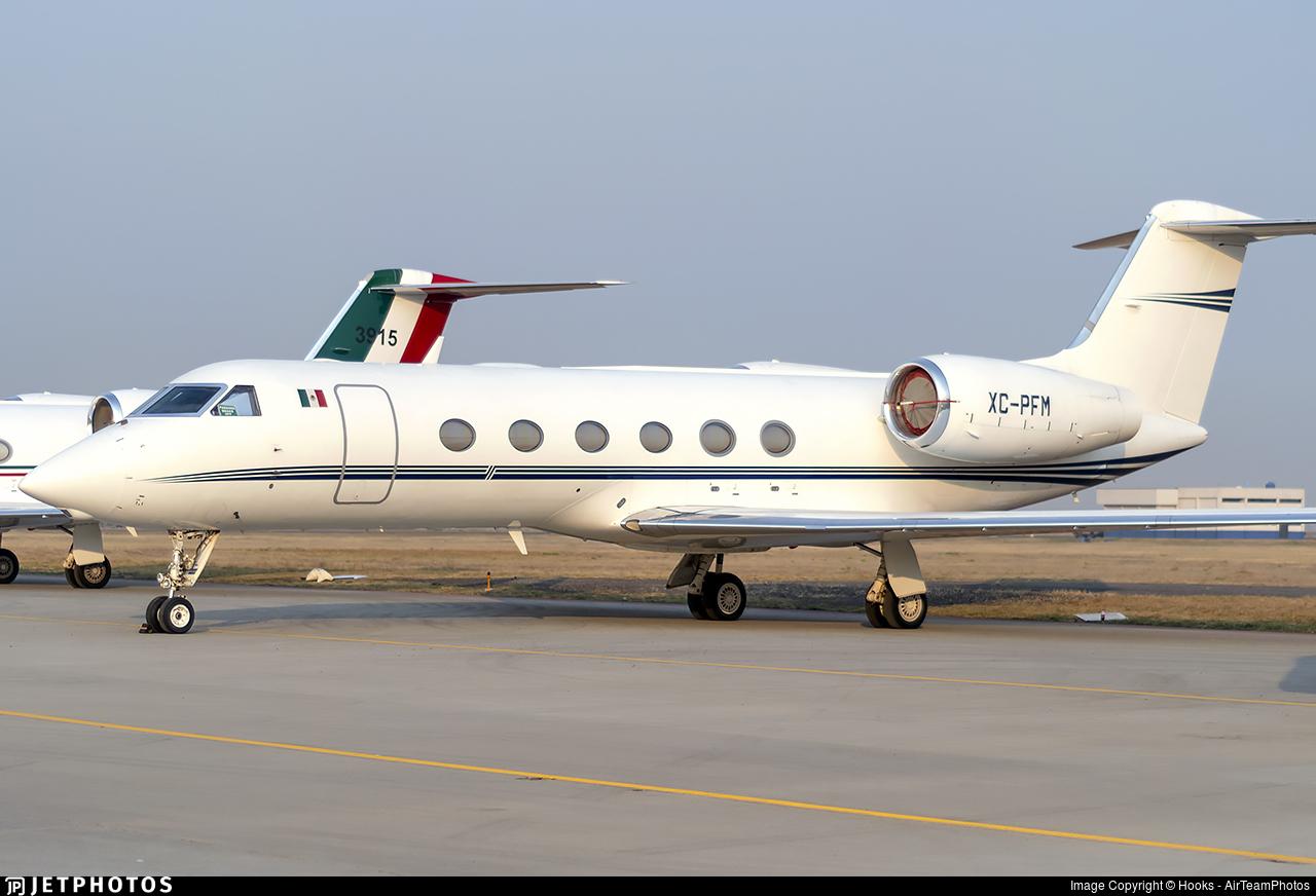 XC-PFM - Gulfstream G350 - Mexico - Police
