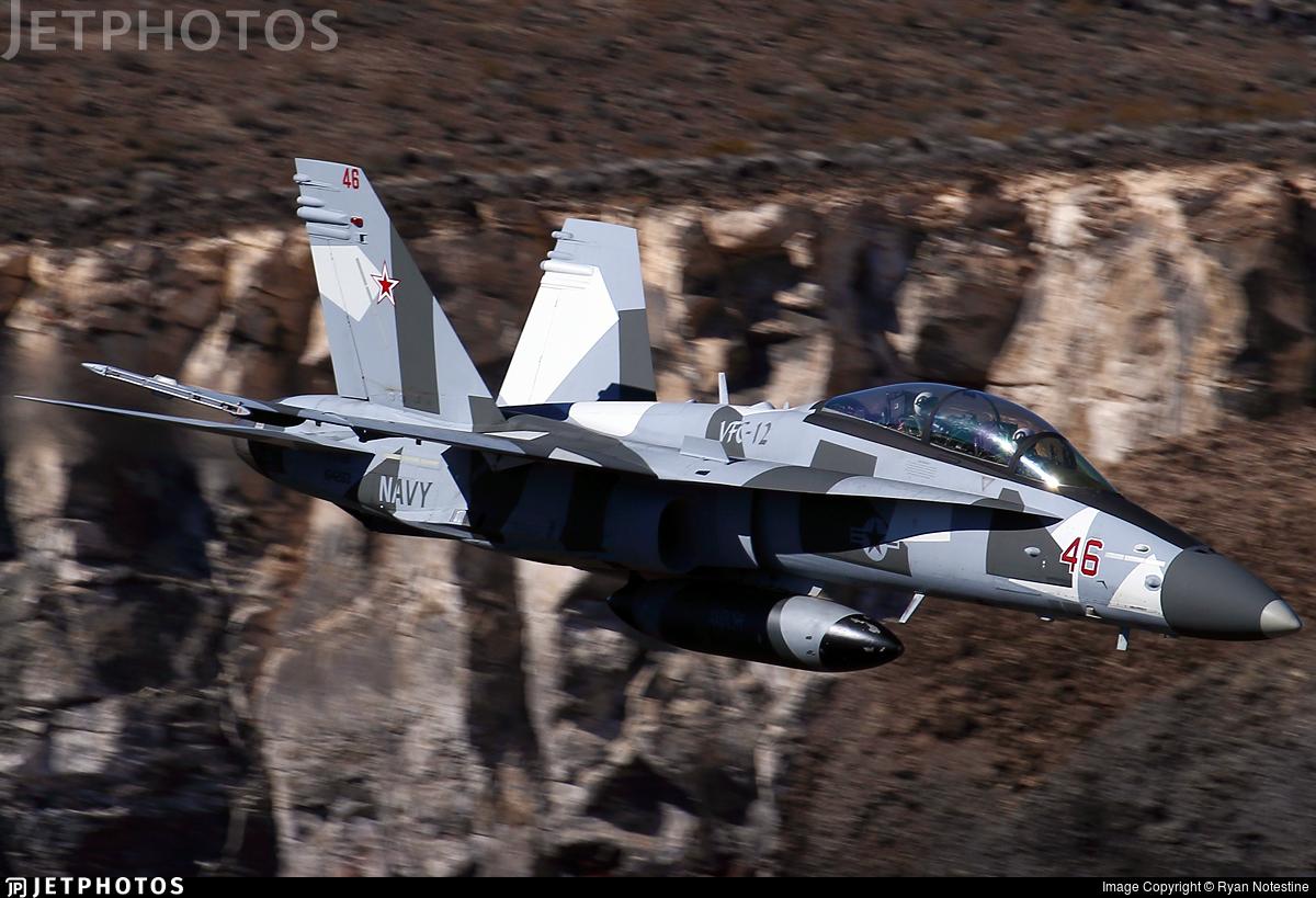 164263 - McDonnell Douglas F/A-18D Hornet - United States - US Navy (USN)