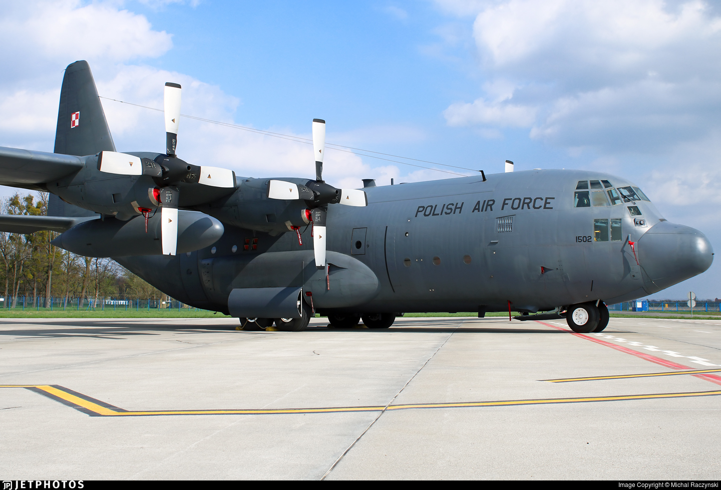 1502 - Lockheed C-130E Hercules - Poland - Air Force