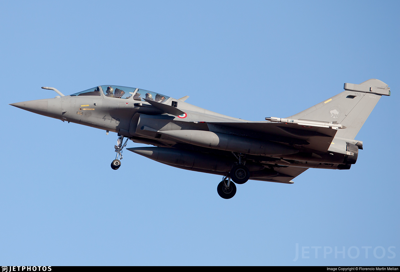 350 - Dassault Rafale B - France - Air Force