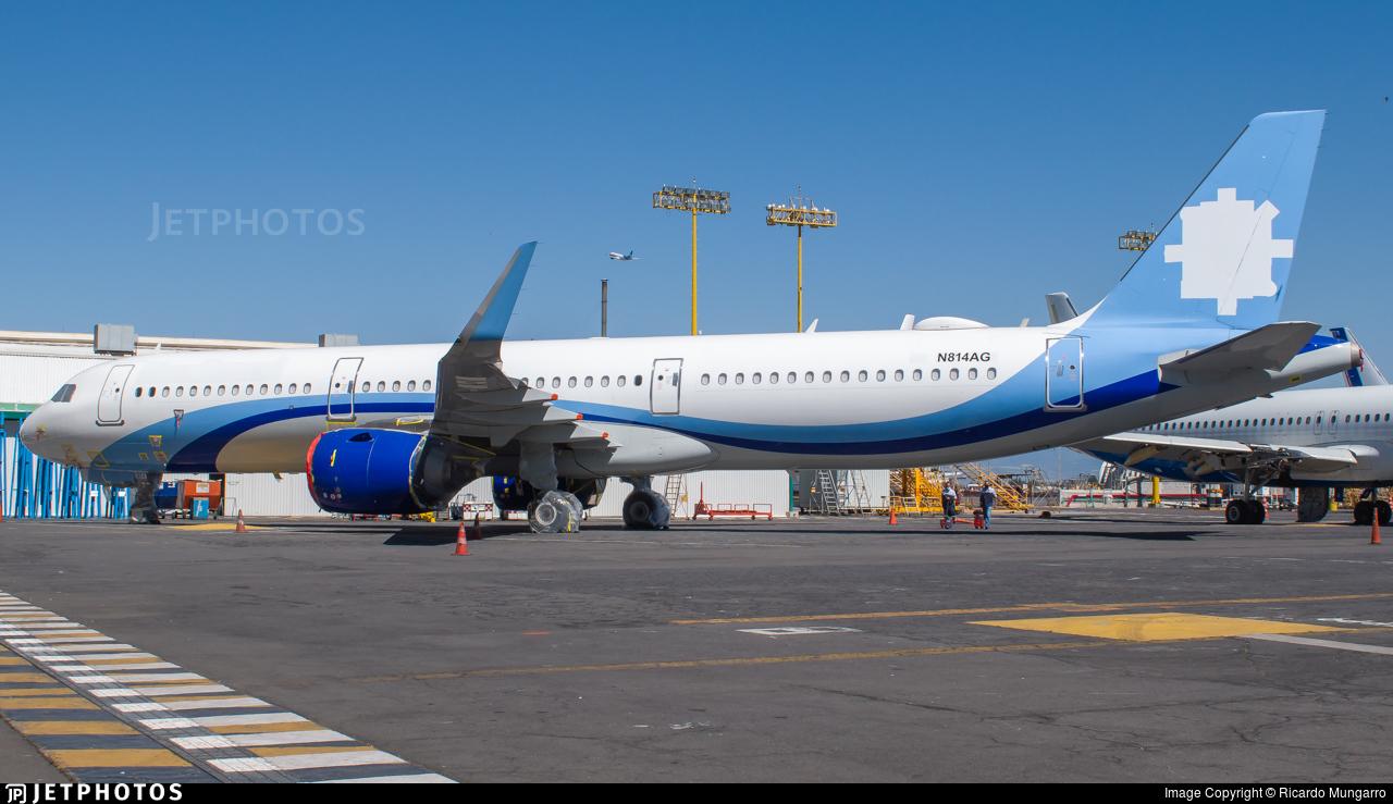 N814AG - Airbus A321-251N - Untitled
