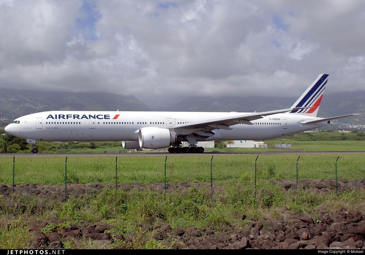 F-GSQN - Boeing 777-328ER - Air France
