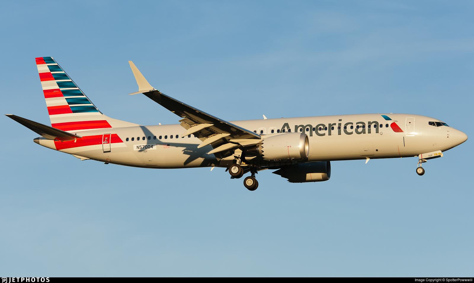 N57004 - Boeing 737-8 MAX - American Airlines