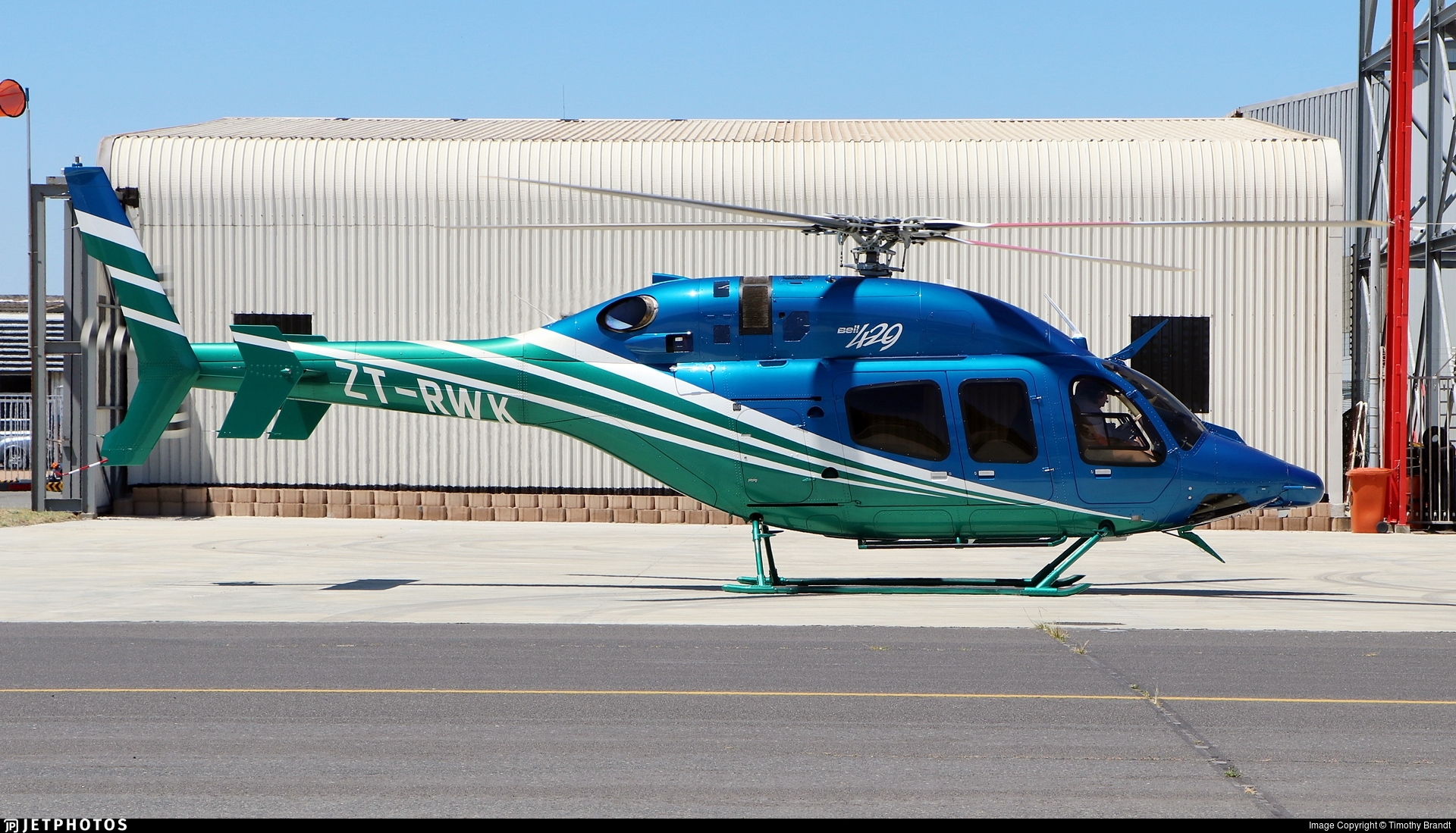 ZT-RWK - Bell 429 Global Ranger - Private